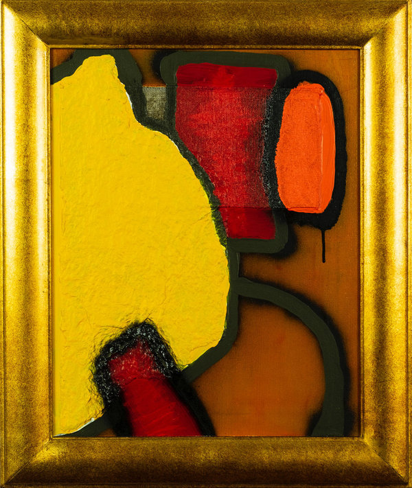 Arie Otten: Composition in Yellow and Red - Part 2/3