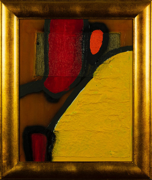 Arie Otten: Composition in Yellow and Red - Part 1/3